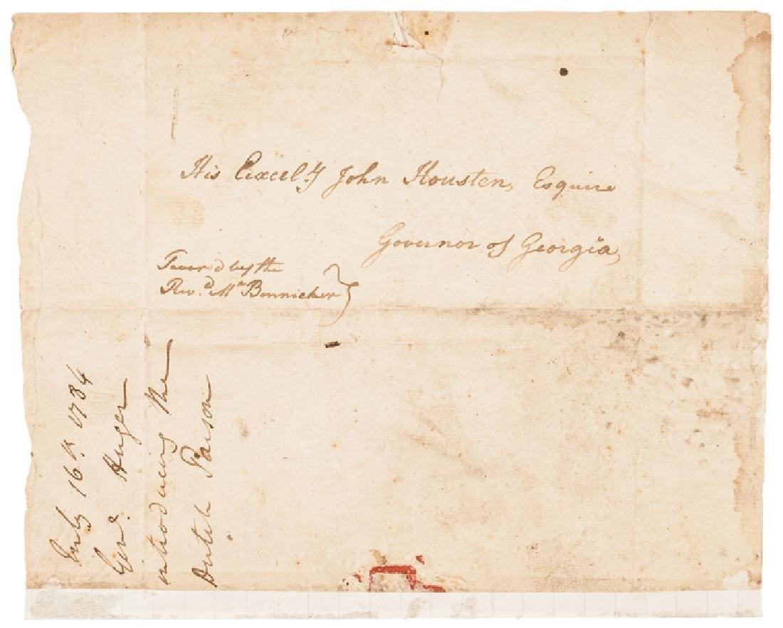 1784 Continental Army General ISAAC HUGER ALS - 2
