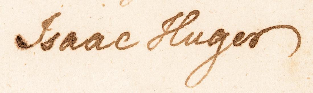 1784 Continental Army General ISAAC HUGER ALS - 3