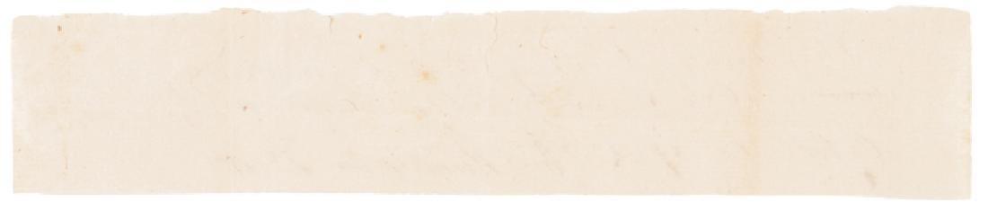 1782 General Ebenezer Huntington Signed Document - 2