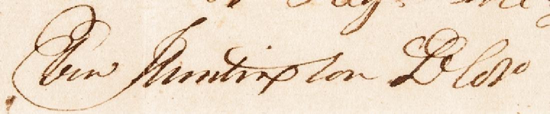 1782 General Ebenezer Huntington Signed Document - 3