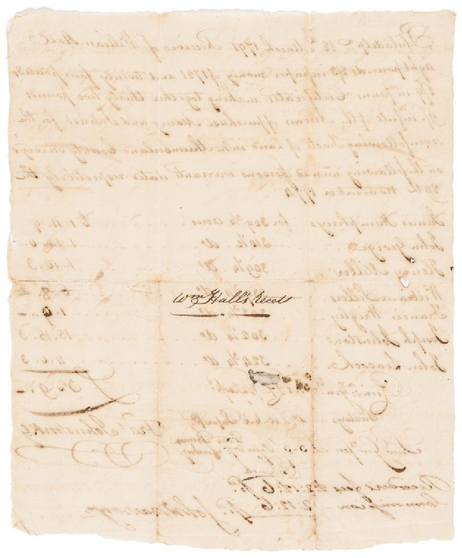 1791 Revolutionary War Colonel Fancis Johnston - 2
