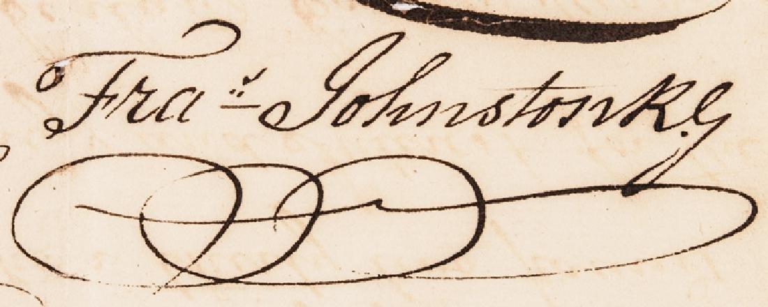 1791 Revolutionary War Colonel Fancis Johnston - 3