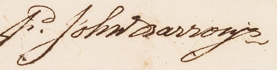 1791 Revolutionary War Colonel Fancis Johnston - 4
