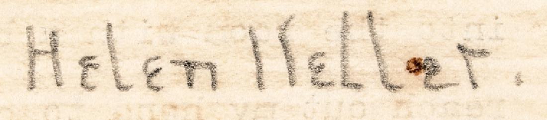 Excellent HELEN KELLER 1923 Typed Letter Signed - 3