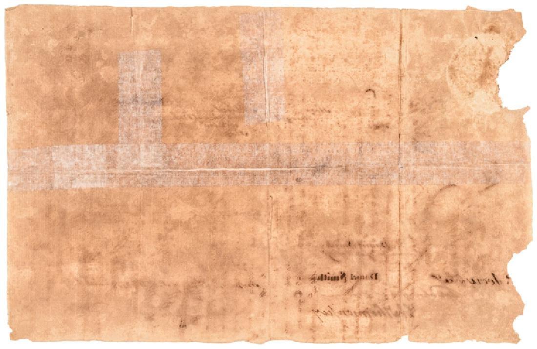 1779 HENRY LAURENS Signed Letter of Marque - 2