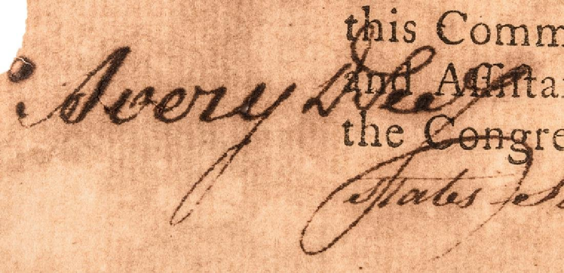 1779 HENRY LAURENS Signed Letter of Marque - 5