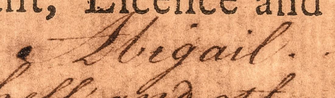 1779 HENRY LAURENS Signed Letter of Marque - 7