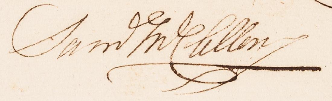 1779 Brig General SAMUEL MCCLELLAN Signed Receipt - 3