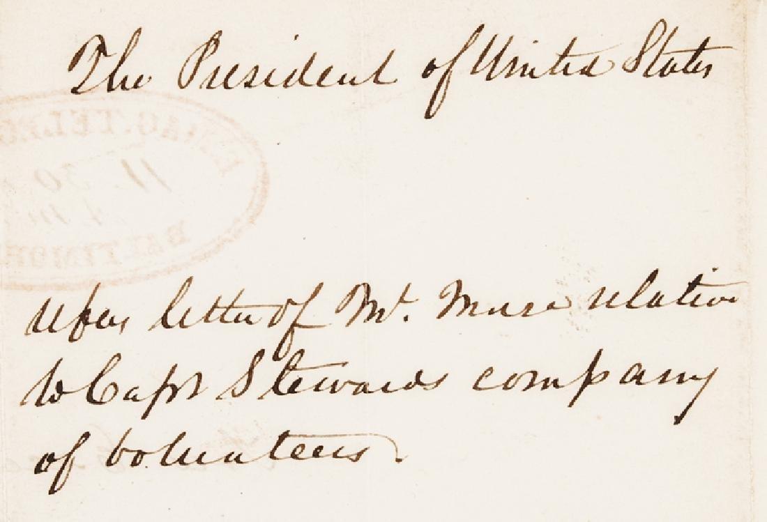 1846 Samuel F. B. Morse Signed Document for US - 3