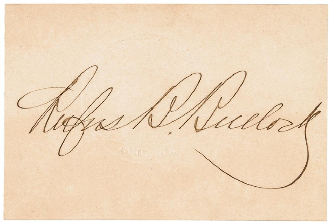 18 Autographs Civil War Politicians + Governors! - 3