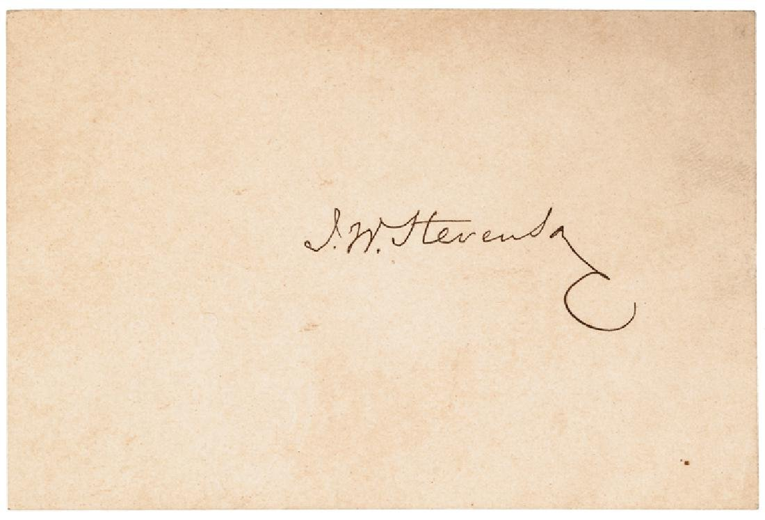 18 Autographs Civil War Politicians + Governors! - 5