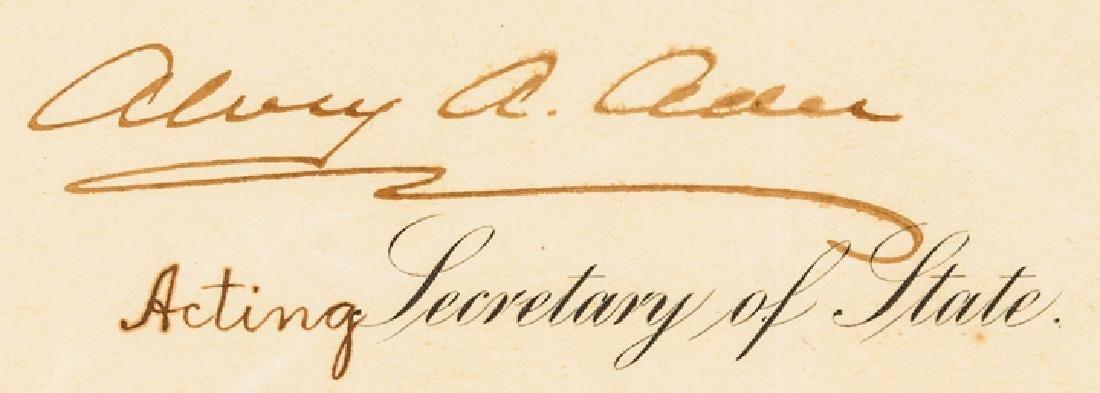 1907 President Theodore Roosevelt Signed Document - 3