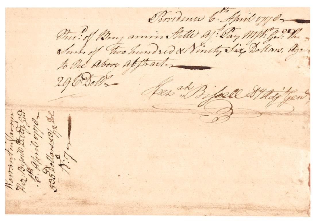 1778 JOSEPH SPENCER Continental Army Maj. General - 2