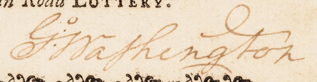 1768 GEORGE WASHINGTON Signed VA. Lottery Ticket! - 3