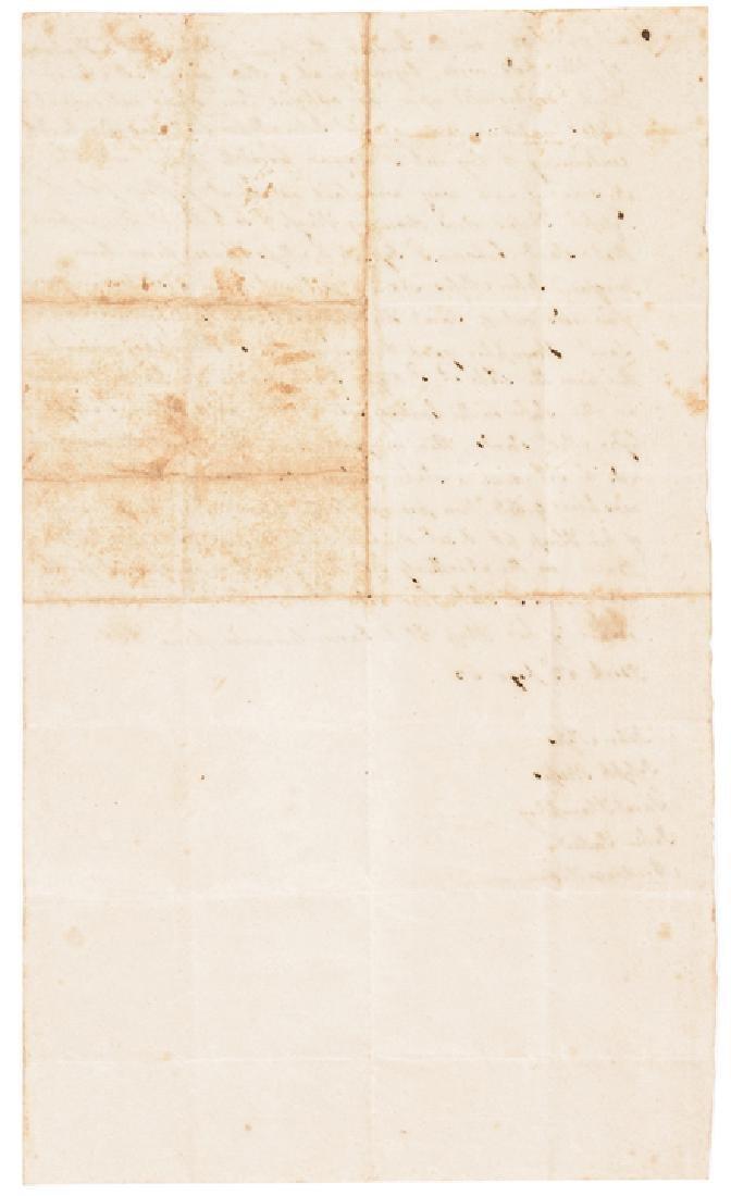 1702 Late Pilgrim Era Colonial Conn. Document - 2