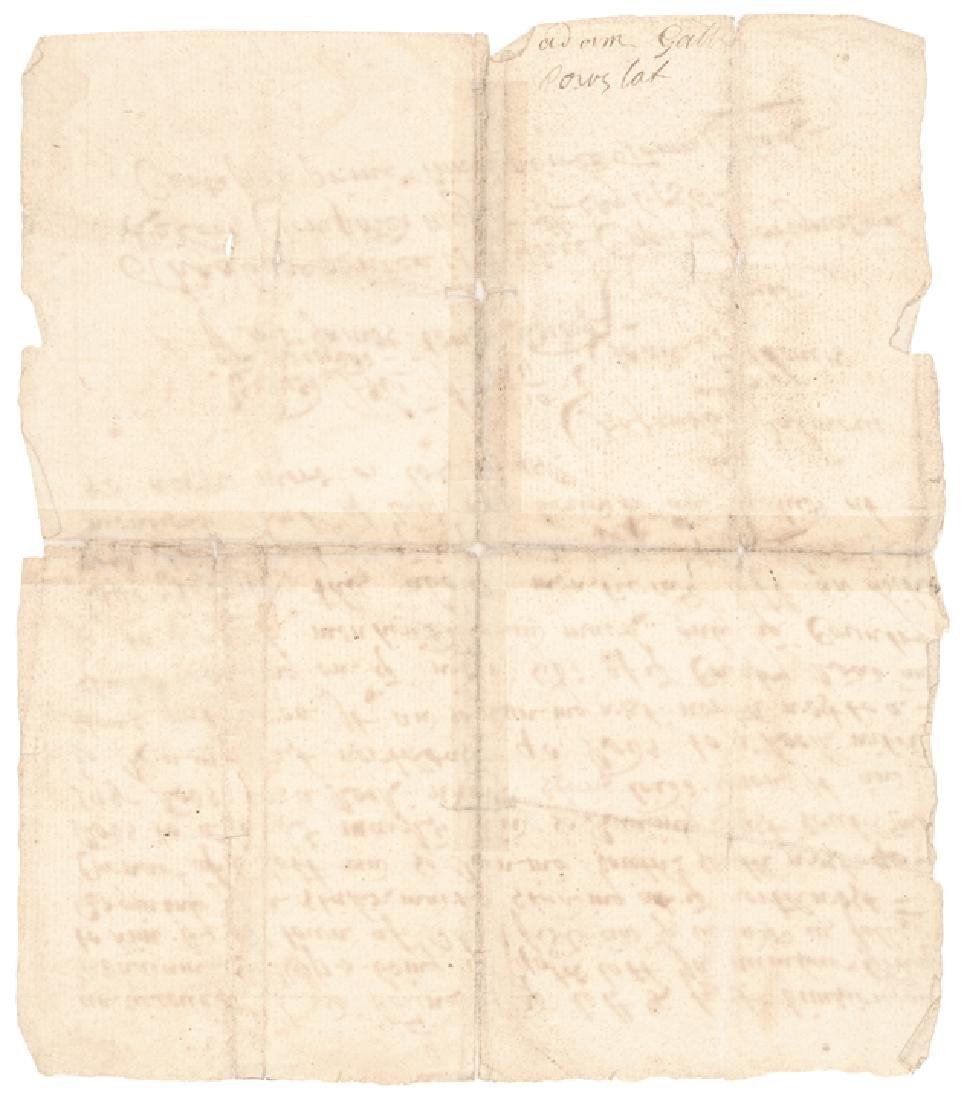 1710 Plainfield Connecticut Land Grant True Copy - 2