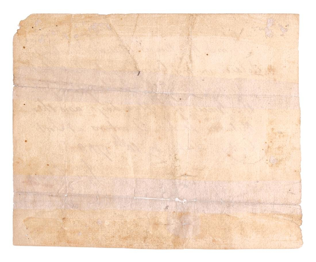 1758 King Georges War Military Pass Thru New York - 2
