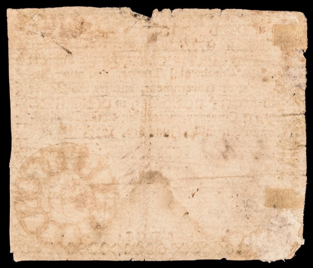 Colonial Currency, GA. June 8, 1777 $8 13 Links! - 2