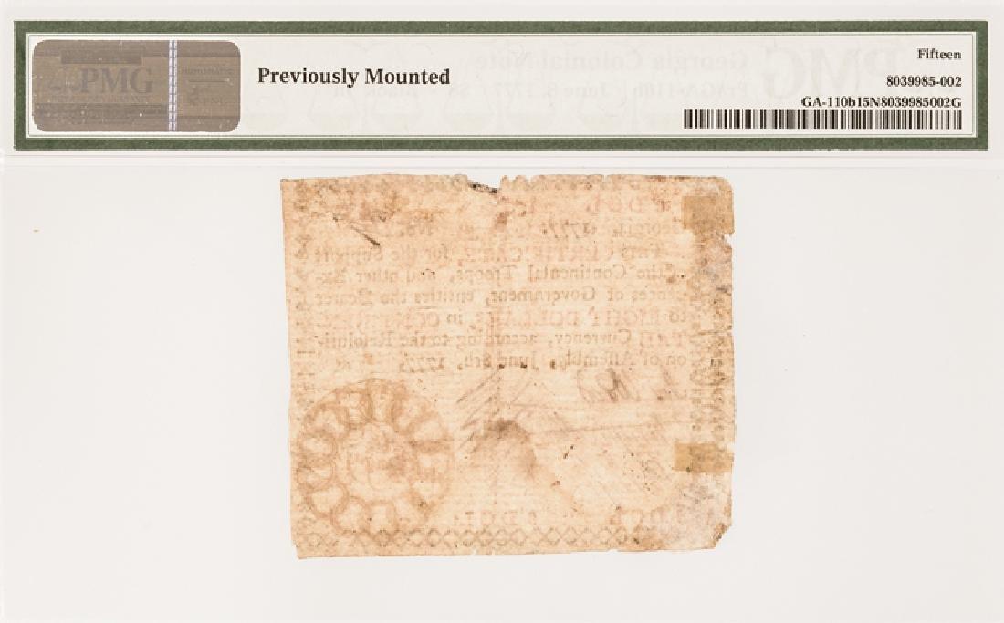 Colonial Currency, GA. June 8, 1777 $8 13 Links! - 4