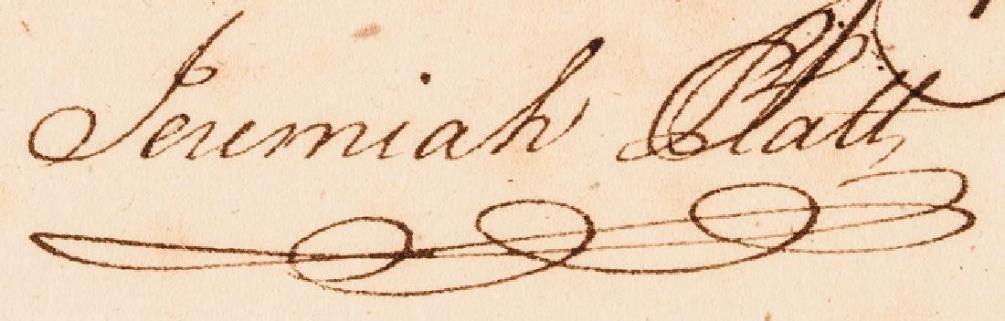 1779 Conn. Copper Coiners Bishop + Platt Signed! - 6