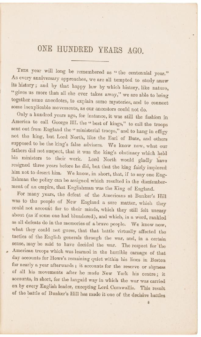 1875 Edward Everett Hale Imprint about Rev War - 3