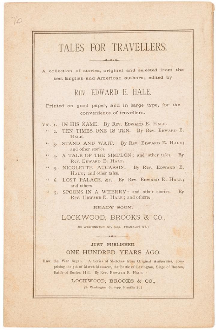 1875 Edward Everett Hale Imprint about Rev War - 4