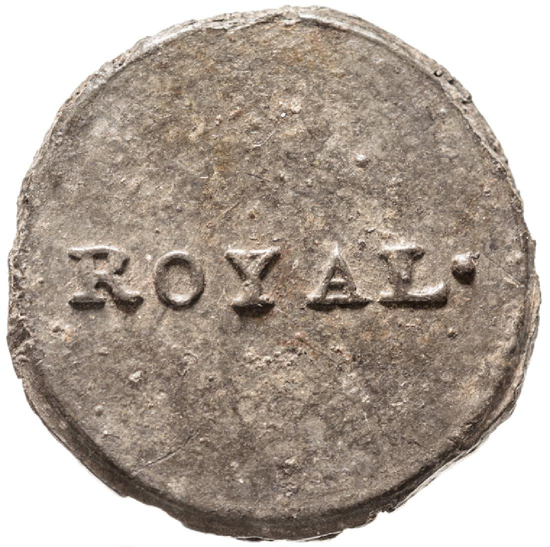 c. 1775 ROYAL Provincial British Loyalist Button