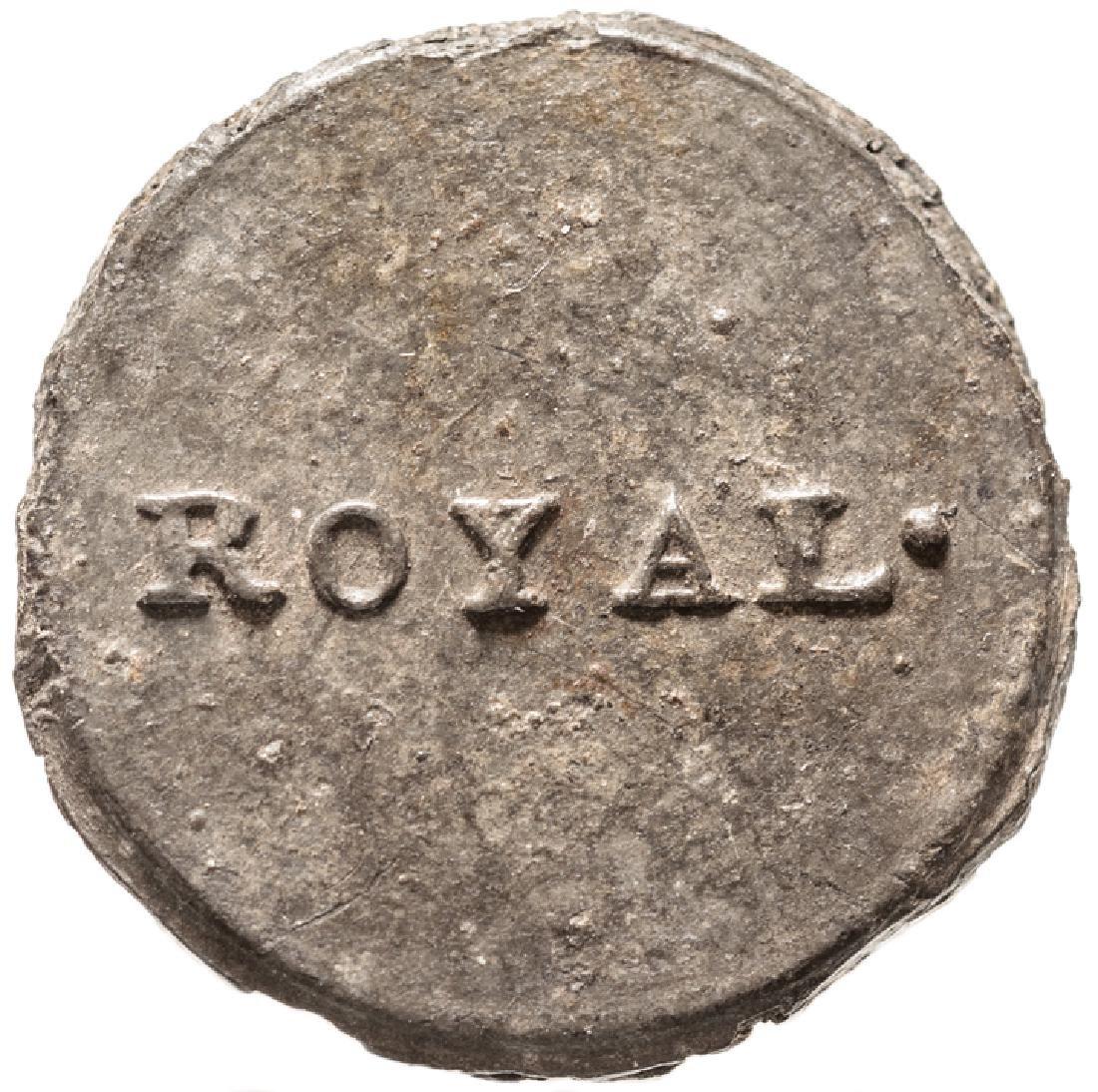 c. 1775 ROYAL Provincial British Loyalist Button