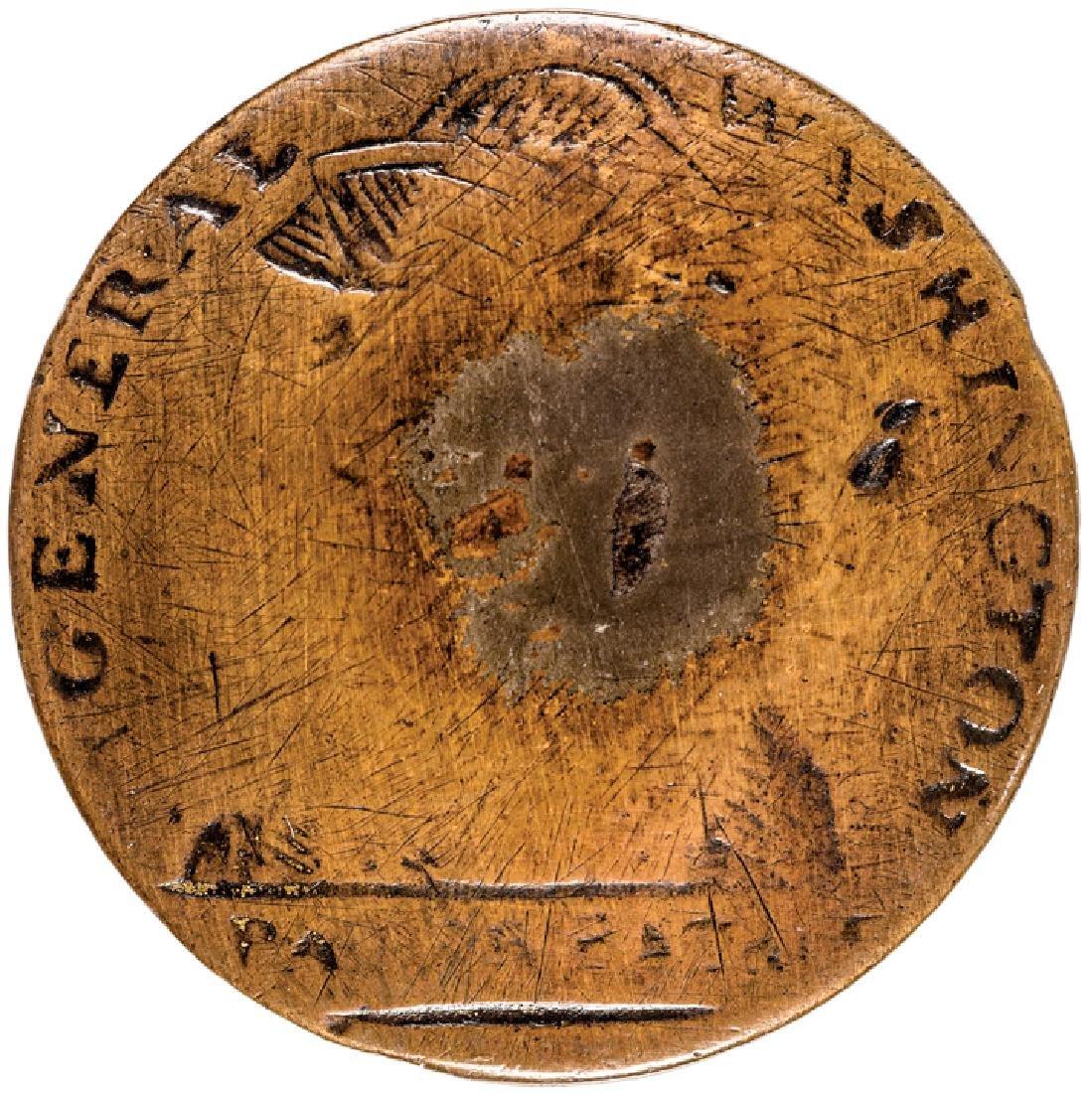 (1789) GENERAL WASHINGTON - PATER PATRIAE Button!