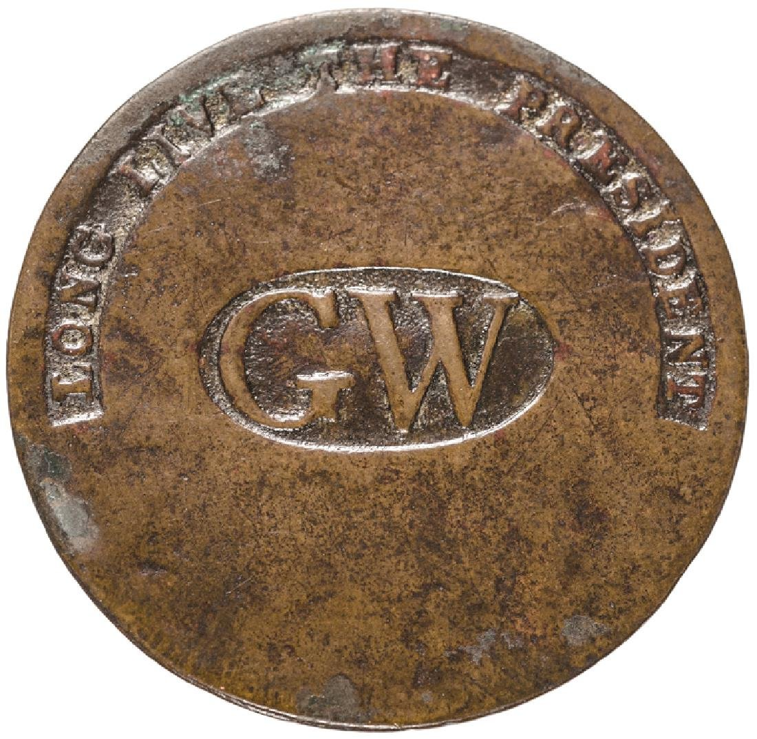 (1789) George Washington Inaugural Button WI-11A