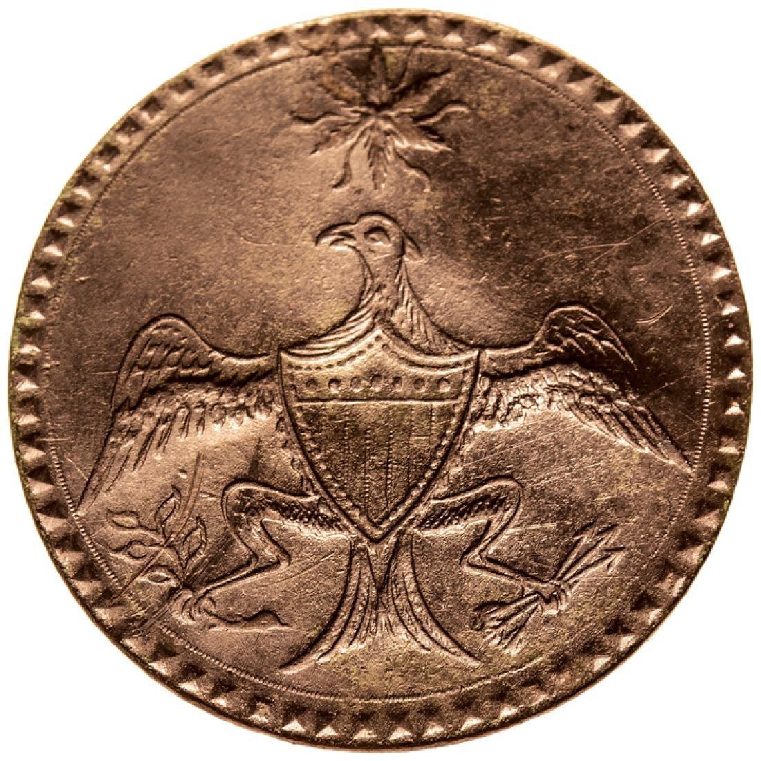 (1789) George Washington Inaugural Brass Button