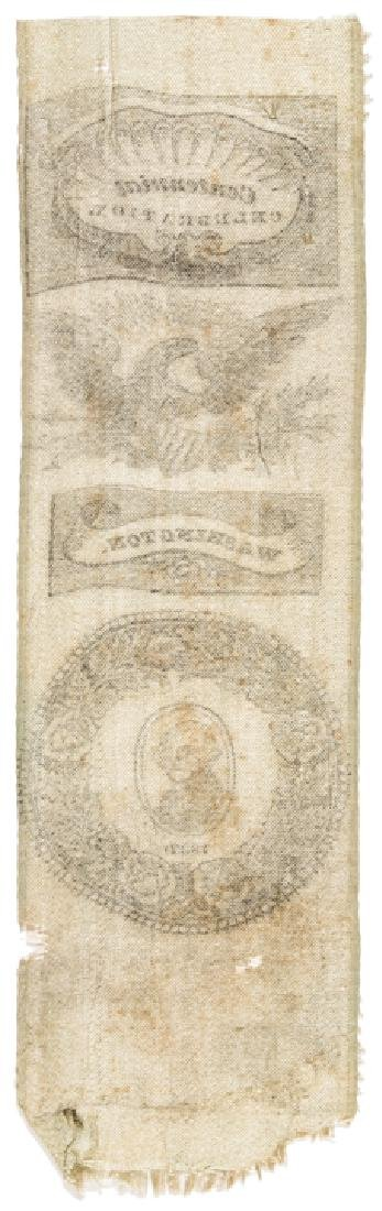 1832  George Washington Centennial Silk Ribbon! - 2