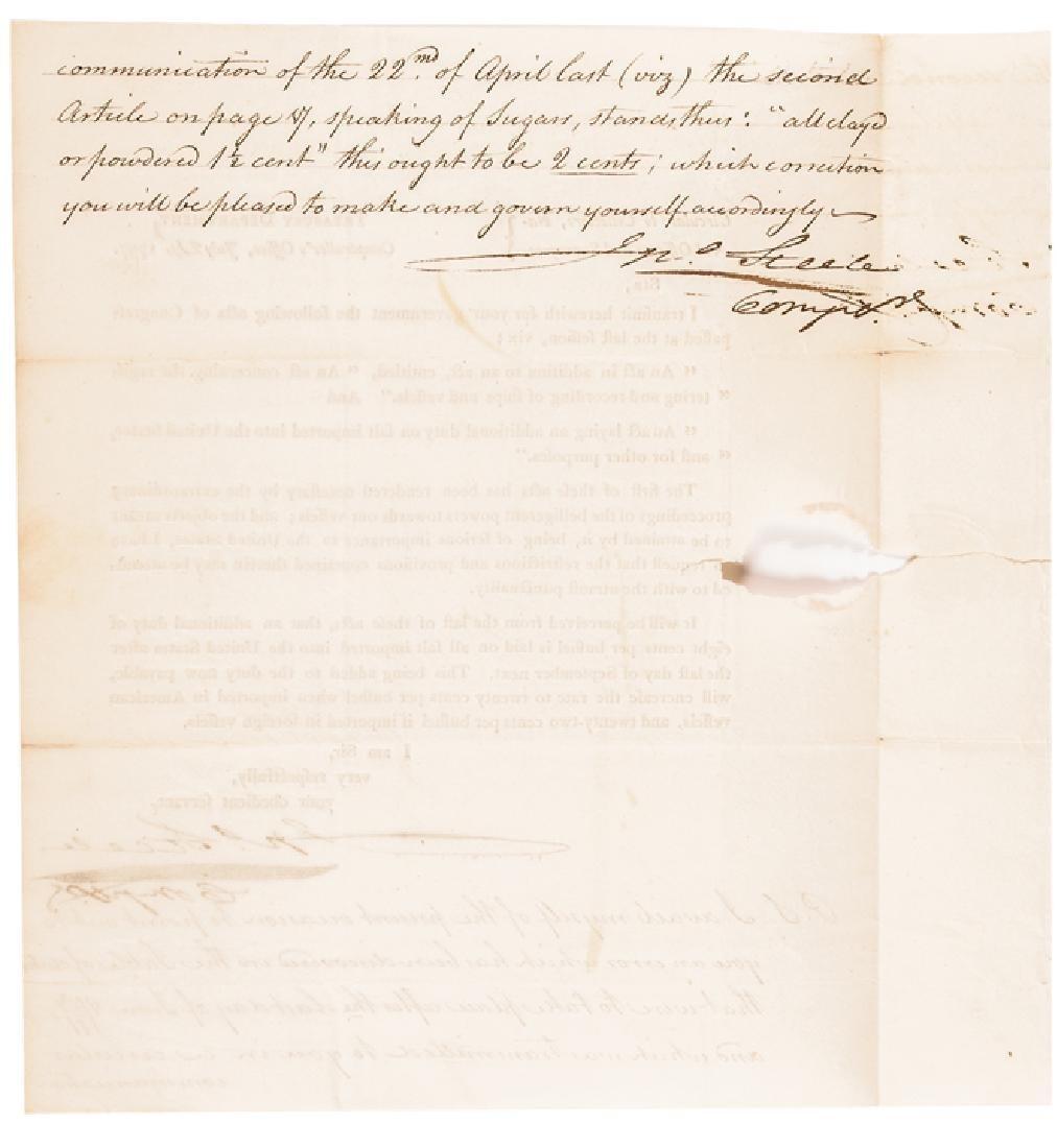 1797 Treasury Depart. Circular ACTS of Congress! - 2
