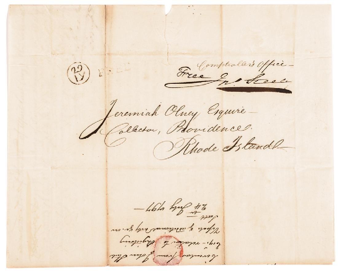 1797 Treasury Depart. Circular ACTS of Congress! - 3