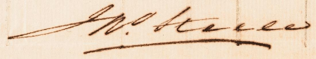 1800 Treasury Depart. Circular Ships Registration - 4