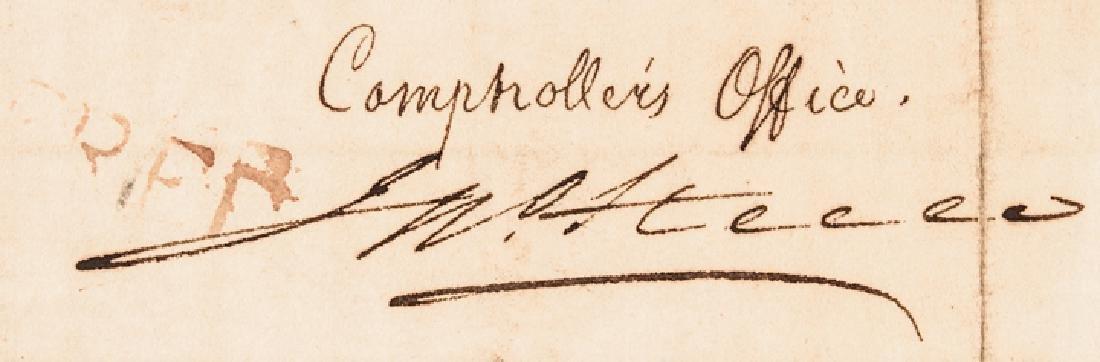 1800 Treasury Depart. Circular Ships Registration - 5