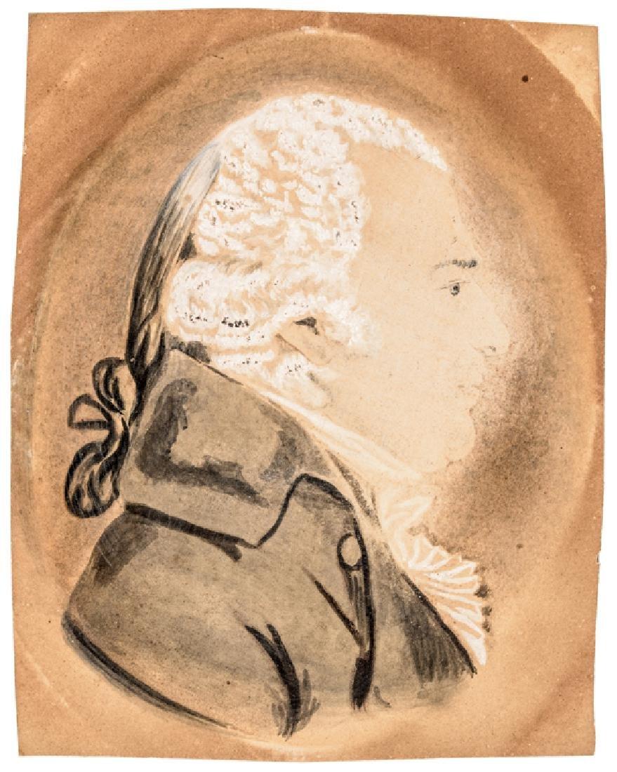 Charles Balthazar Saint-Memin Portrait Painting