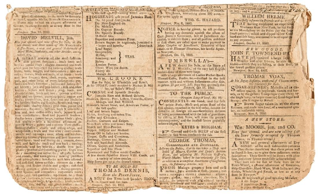 1809 Imprint: MESSAGE TO THE PRESIDENT + CONGRESS - 3