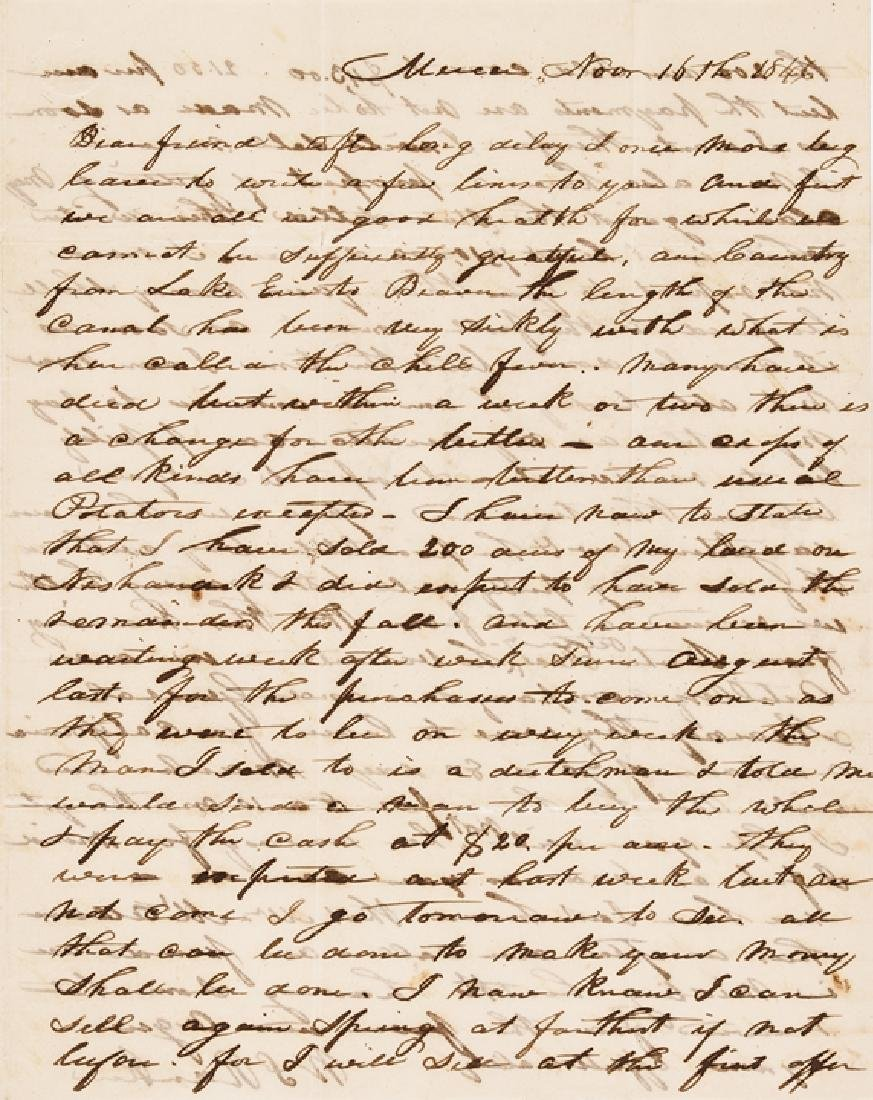 1846 Mexican-American War 2 Good Content Letters