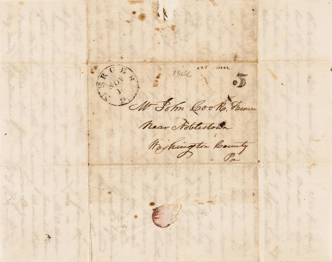 1846 Mexican-American War 2 Good Content Letters - 3