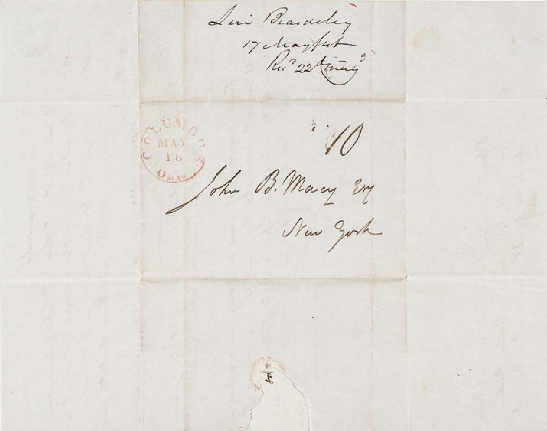 1846 Mexican-American War 2 Good Content Letters - 8