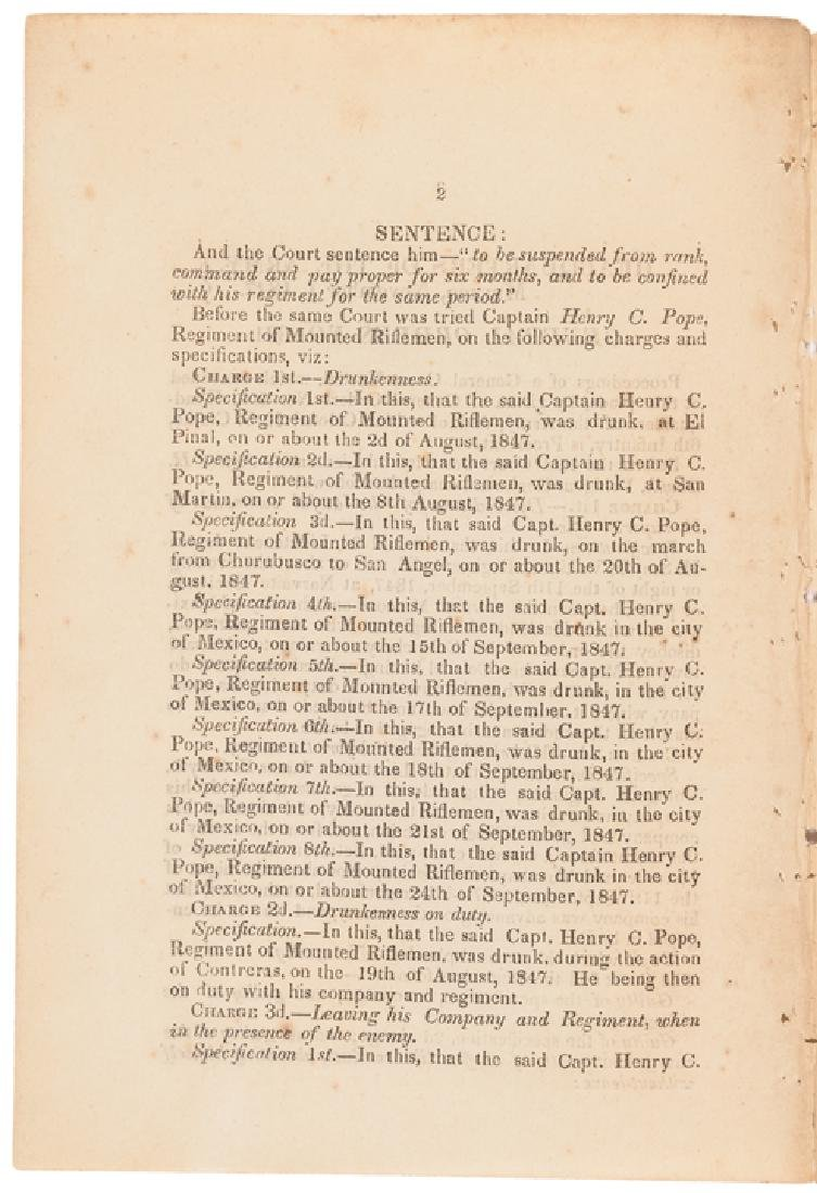 1847 HEADQUARTERS OF THE ARMY, MEXICO Orders - 2