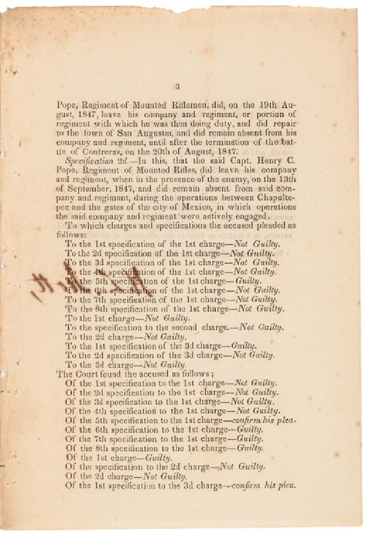 1847 HEADQUARTERS OF THE ARMY, MEXICO Orders - 3