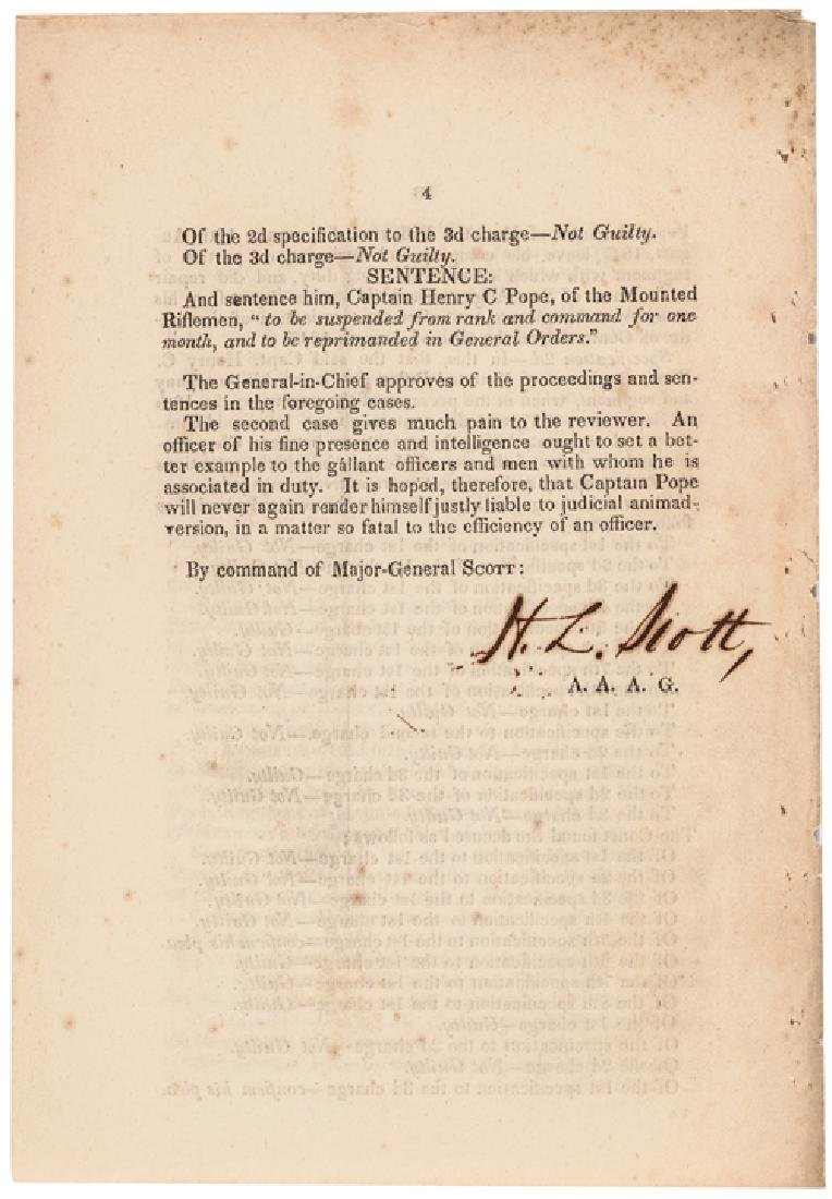 1847 HEADQUARTERS OF THE ARMY, MEXICO Orders - 4