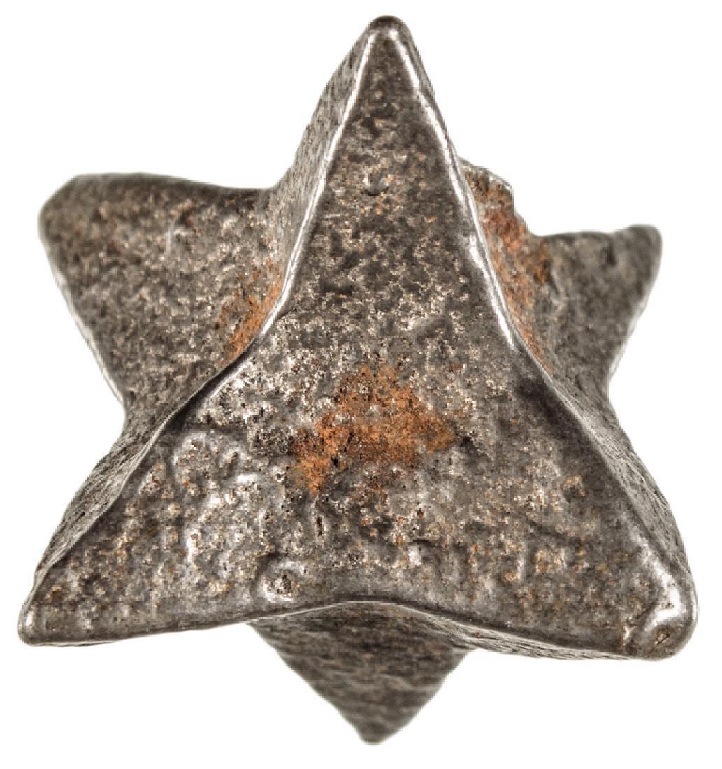 c 1860 Civil War Period Six Pointed Iron Caltrop
