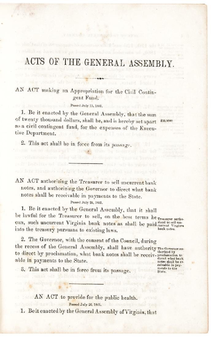 July 1861 West Virginia Remains Loyal to Union - 3