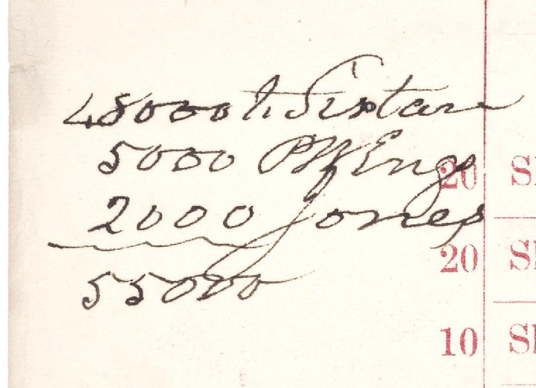 1871 Civil War Bonds New York Auction Broadside - 3