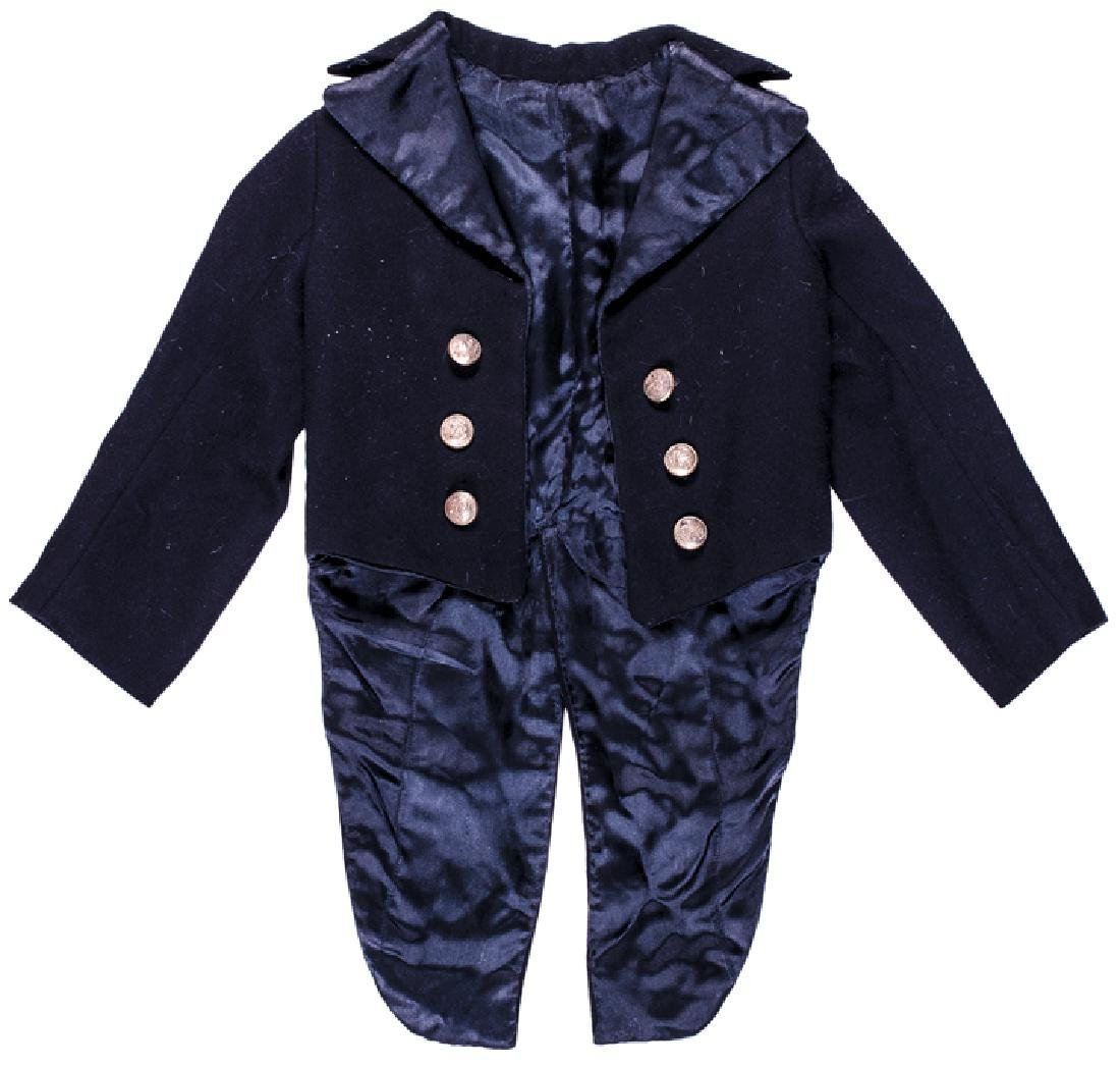 c 1860 Civil War Child Size Marine Officer Tunic