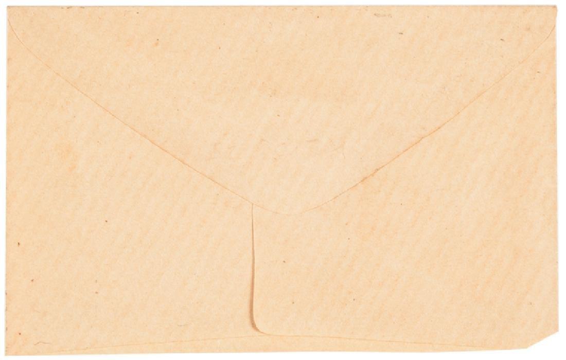 R-9 US Postage Stamp Envelope Friedberg Plate ! - 2