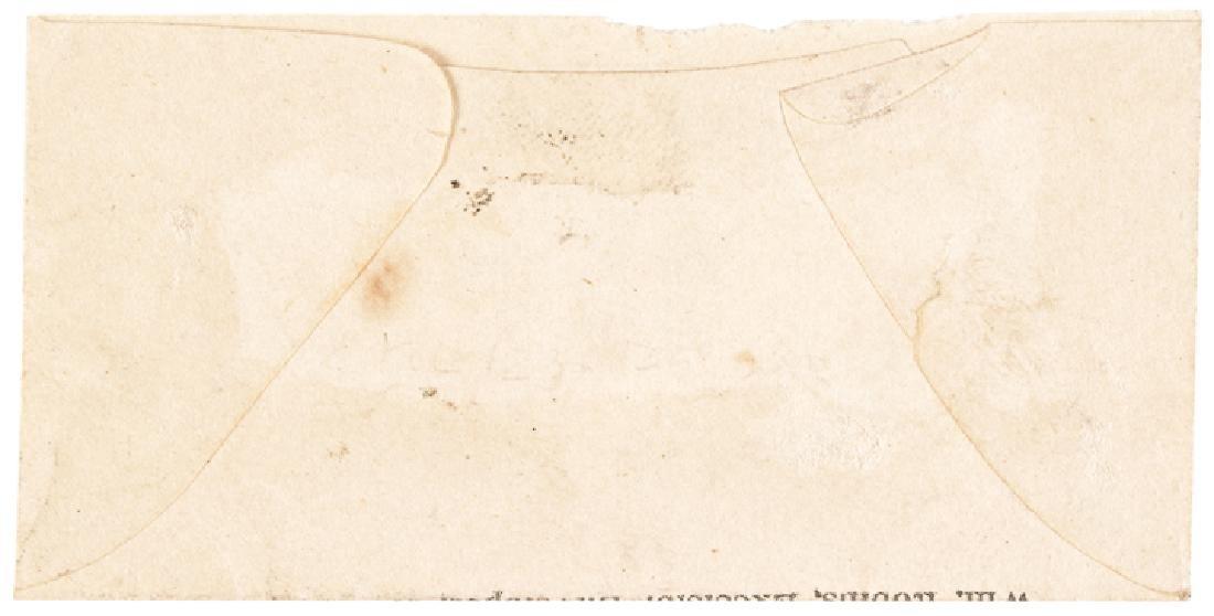 U.S. Postage Stamp Envelope WM. Robins NY Variant - 2